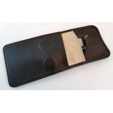 """Экранирующий кожаный  чехол """"Minipocket"""". Модернизированный с  тремя  карманами. Защита для карты."""