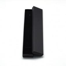 Подарочная коробка для ювелирных изделий 21x4x2 см, цвет черный