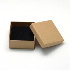 Подарочная коробка для ювелирных изделий 7x7x3.5 см
