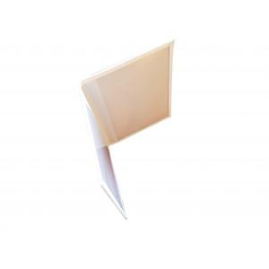 Экранирующая обложка для биометрического загранпаспорта с меткой RFID (белая)