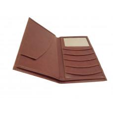 Бумажник из кожи для документов